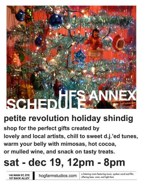 a cozy craft event at the annex!