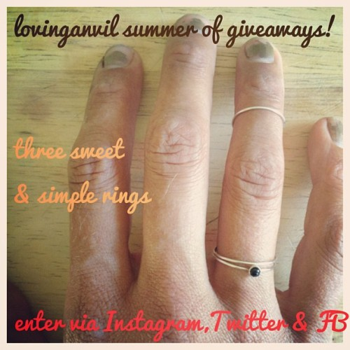 lovinganvil summer of giveaways 2!! lovinganvil.com