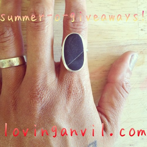 lovinganvil summer of giveaways 1!!